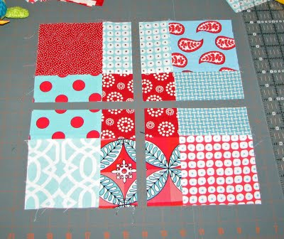 Tossed Nine Patch Sample Barn Quilts In Garrett County