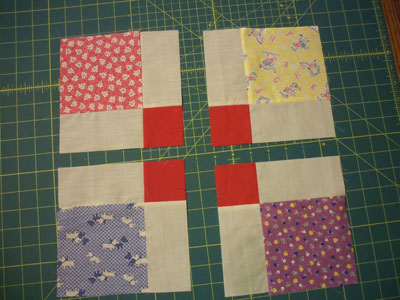 Tossed Nine Patch Sample2 Barn Quilts In Garrett County