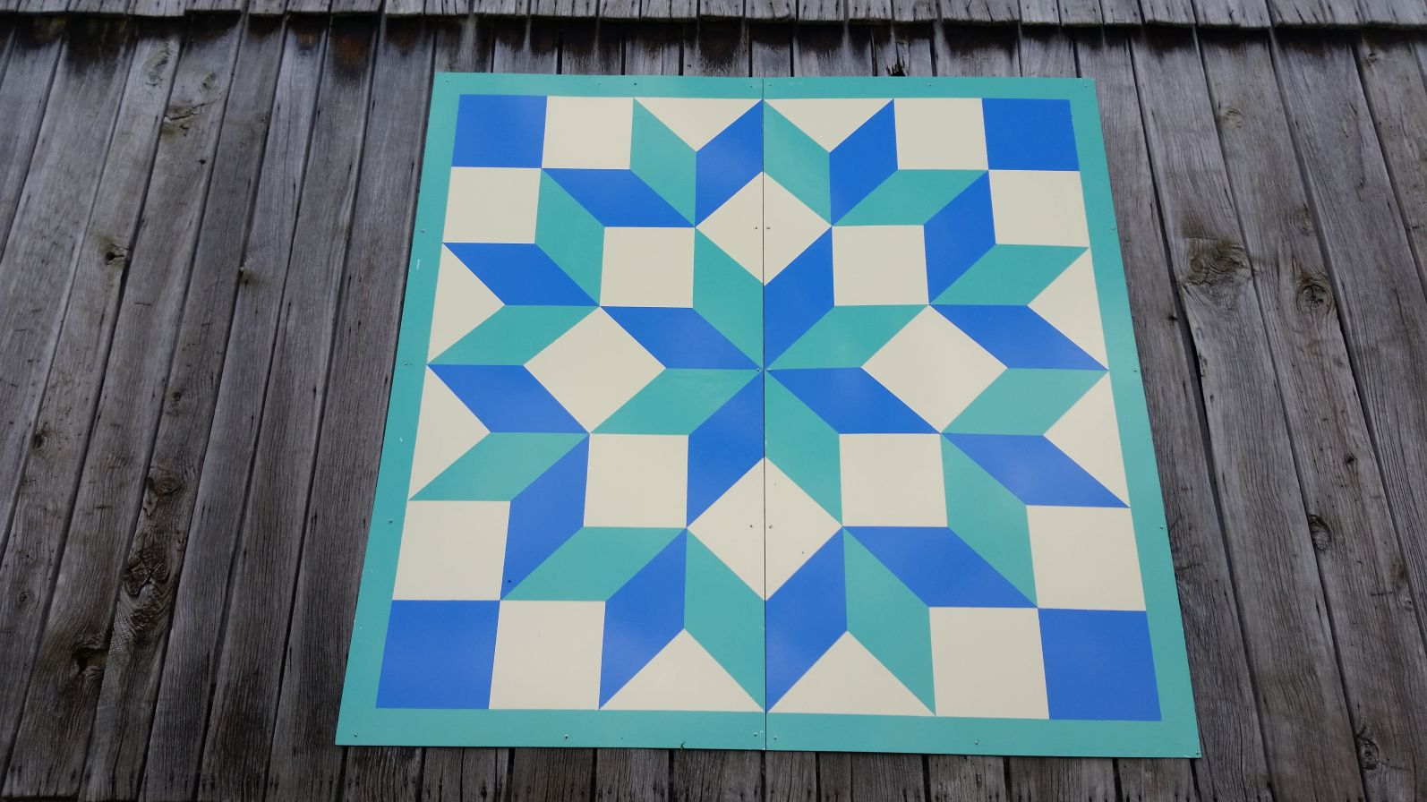 photo about Printable Barn Quilt Patterns referred to as Reduce #33: Carpenters Wheel Barn Quilts inside of Garrett County